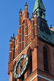 Church of the Holy family. Kaliningrad (until 1946 Koenigsberg), Royalty Free Stock Images