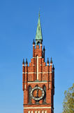 Church of the Holy family. Kaliningrad (before 1946 Konigsberg) Royalty Free Stock Images