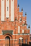 Church of the Holy family, neo-Gothic 20th century. Kaliningrad (until 1946 Koenigsberg), Russia. Church of the Holy family (german Kirche Zur heiligen Familie stock photos