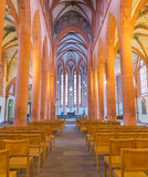 Church of the Holy Ghost or Heiliggeistkirche in Heidelberg, Ger Stock Images