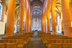 Church of the Holy Ghost or Heiliggeistkirche in Heidelberg, Ger Royalty Free Stock Images