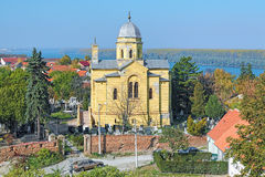 Church of the Holy Great Martyr Dimitrije Solunski in Zemun, Serbia stock photos