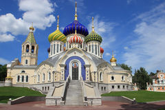 Church of the Holy Igor of Chernigov (Moscow). Church of the Holy Igor of Chernigov is a Russian Orthodox church in the Novo-Peredelkino District of the Western Royalty Free Stock Photo