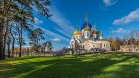 The Church of the Holy Igor of Chernigov in Novo-Peredelkino. Stock Photography