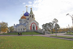 Church of the Holy Igor of Chernigov in Peredelkino, Moscow Royalty Free Stock Images
