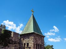 Church of the Holy Mother of God. Kalemegdan fortress, Belgrade, Serbia.n royalty free stock photos