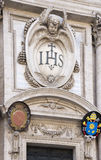 Church of the Holy Name of Jesus, the main Jesuit church in Rome Stock Image