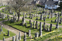 Church of the Holy Rude graveyard - Scotland Royalty Free Stock Image