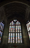 Church of the Holy Rude - Stained Glass Window Royalty Free Stock Photos