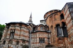 Church of the Holy Saviour in Chora, Istanbul. Stock Photo