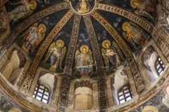 Church of the Holy Saviour in Chora Istanbul royalty free stock images