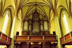 Church of the Holy Saviour Organs Stock Images