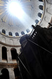 Church of the holy sepulcher. The holy tomb of christ stock photography
