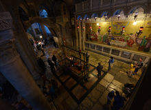 Church of the Holy Sepulcher, Israel stock images