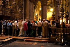 Church of the Holy Sepulcher in the Jerusalem Israel Royalty Free Stock Images