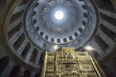 Church of the Holy Sepulcher Stock Photo