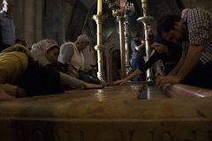 Church of the Holy Sepulcher royalty free stock photography