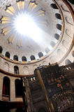 Church of the holy sepulchre. The holy tomb of christ stock image