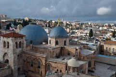 Church of holy sepulchre Royalty Free Stock Images