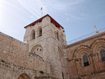 Church of the holy Sepulchre stock photo