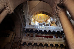Church of the Holy Sepulchre. In Jerusalem, Israel royalty free stock photography