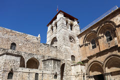 Church of the Holy Sepulchre. In Jerusalem, Israel royalty free stock photos