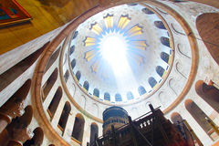 Church of the Holy Sepulchre. Jerusalem, Israel stock photo
