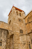 Church of the Holy Sepulchre bell tower Royalty Free Stock Photos