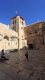 Church of the Holy Sepulchre Courtyard Royalty Free Stock Image
