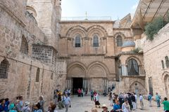 Church of the Holy Sepulchre, Jersualem stock image