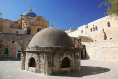 Church of the Holy Sepulchre in Jerusalem Stock Photography