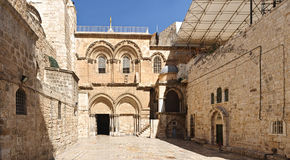Church of the Holy Sepulchre in Jerusalem Royalty Free Stock Photos