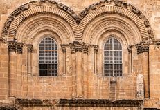 Church of the Holy Sepulchre in Jerusalem. Main entrance to the Church of the Holy Sepulchre in Jerusalem, Israel Stock Photography