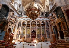 Church of the Holy Sepulchre. Jerusalem, Israel stock photos