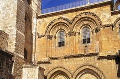 Church of the Holy Sepulchre Jerusalem Stock Photo