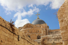 Church of the Holy Sepulchre. Jerusalem Stock Photography