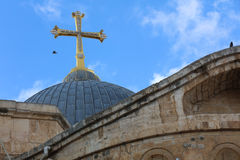 Church of the Holy Sepulchre. Jerusalem Royalty Free Stock Images