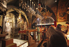 Church of the Holy Sepulchre in Jerusalem. Israel Royalty Free Stock Images