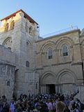 Church of the Holy Sepulchre in Jerusalem Royalty Free Stock Photography