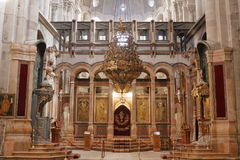 Church of the Holy Sepulchre - Jerusalem - Israel Stock Photography