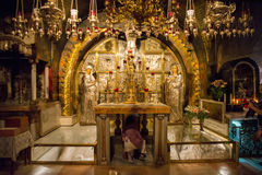 The Church of the Holy Sepulchre stock photos