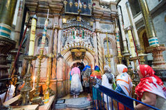 The church of the holy sepulchre Royalty Free Stock Images