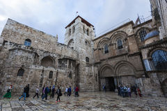 Church of the Holy Sepulchre. Jerusalem, Israel Royalty Free Stock Images