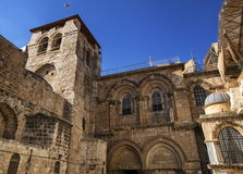 Church of the Holy Sepulchre, Jerusalem, Isreal. Church of the Holy Sepulchre by day, Jerusalem, Isreal stock photos