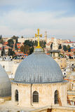 Church of the Holy Sepulchre - Jerusalem Old City Royalty Free Stock Photography