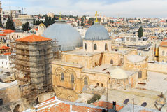 Church of the Holy Sepulchre - Jerusalem Old City Royalty Free Stock Images