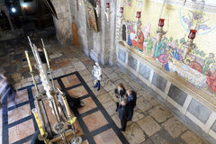 Church of the Holy Sepulchre,Jerusalem Stock Image
