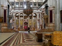 Church of the Holy Sepulchre Royalty Free Stock Photo