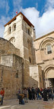 Church of the Holy Sepulchre Panorama Stock Image