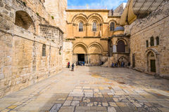 Church of the Holy Sepulcure Stock Image